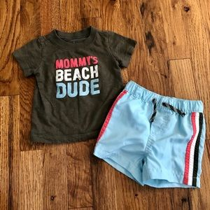 Carter's swim outfit